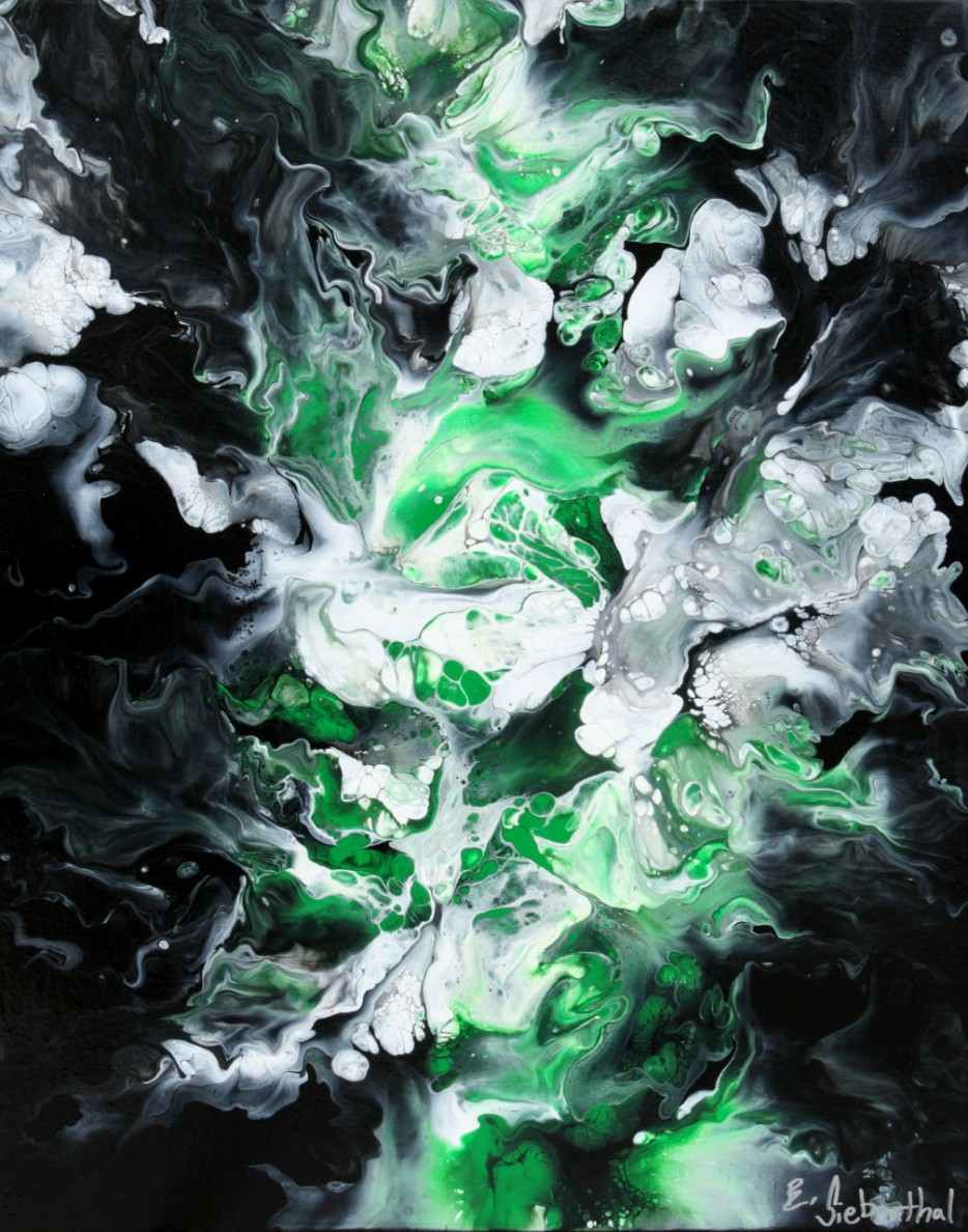 Chatoyant - Abstract Art by Eric Siebenthal - Acrylicmind.com