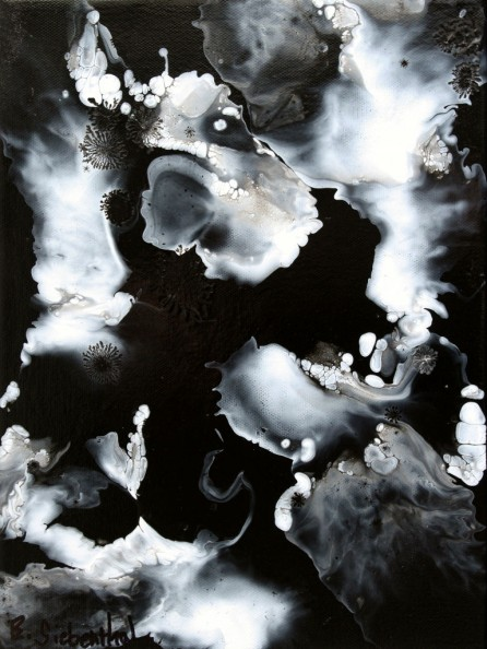 Cloud Break - Fluid Acrylic Art by Eric Siebenthal - Acrylicmind.com