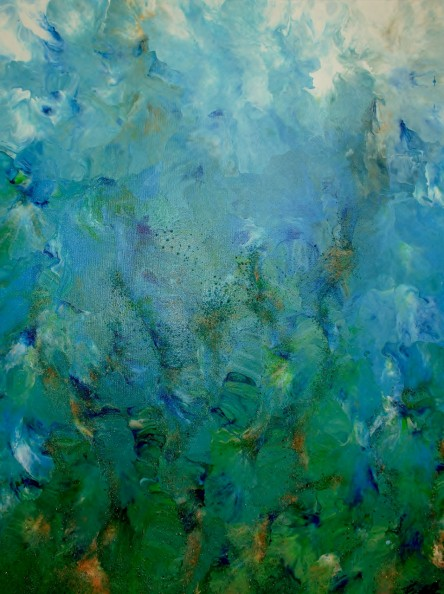 Current - Fluid Acrylic Art by Eric Siebenthal - Acrylicmind.com