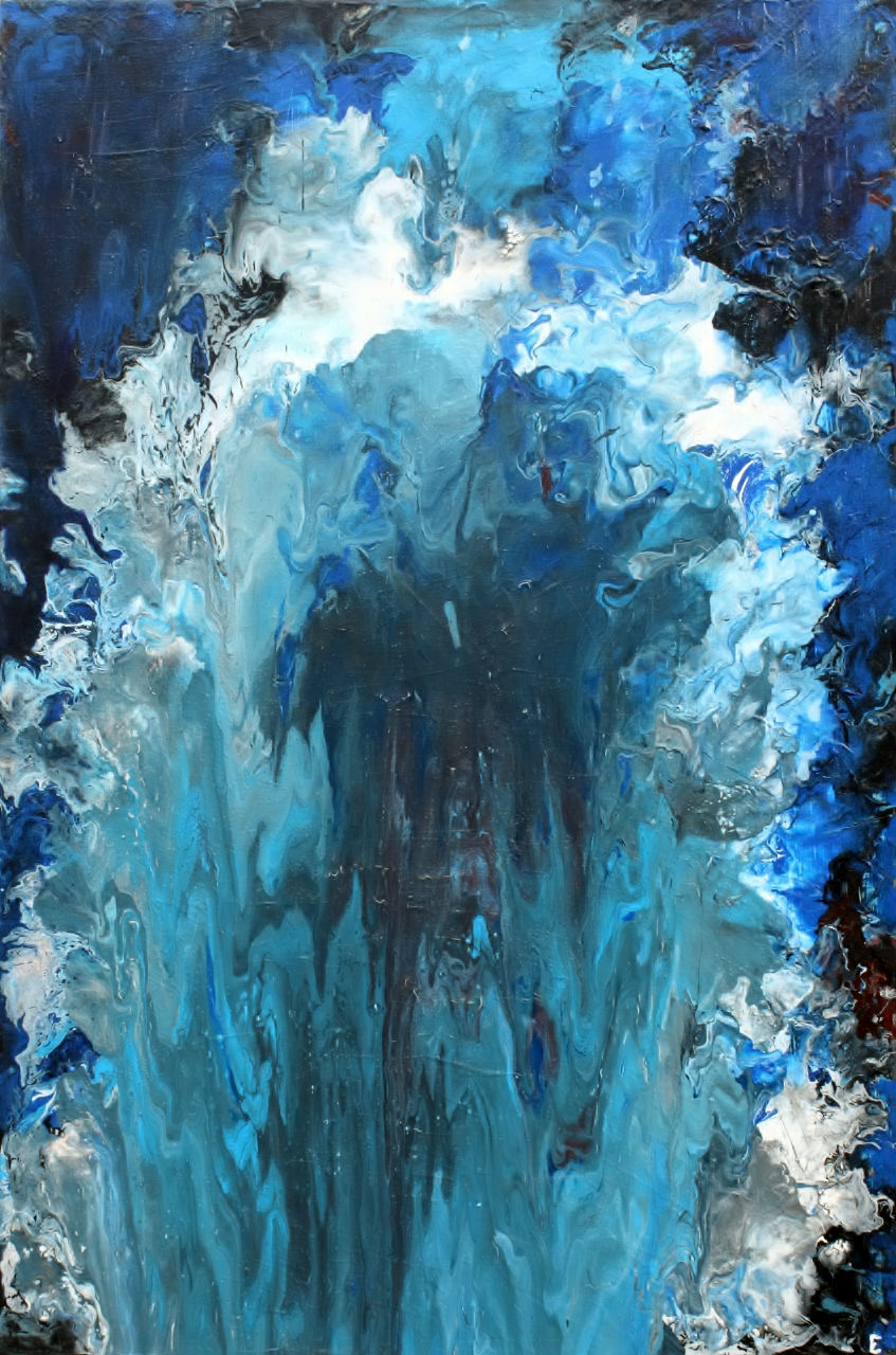 Youth - Fluid Acrylic Art by Eric Siebenthal - Acrylicmind.com