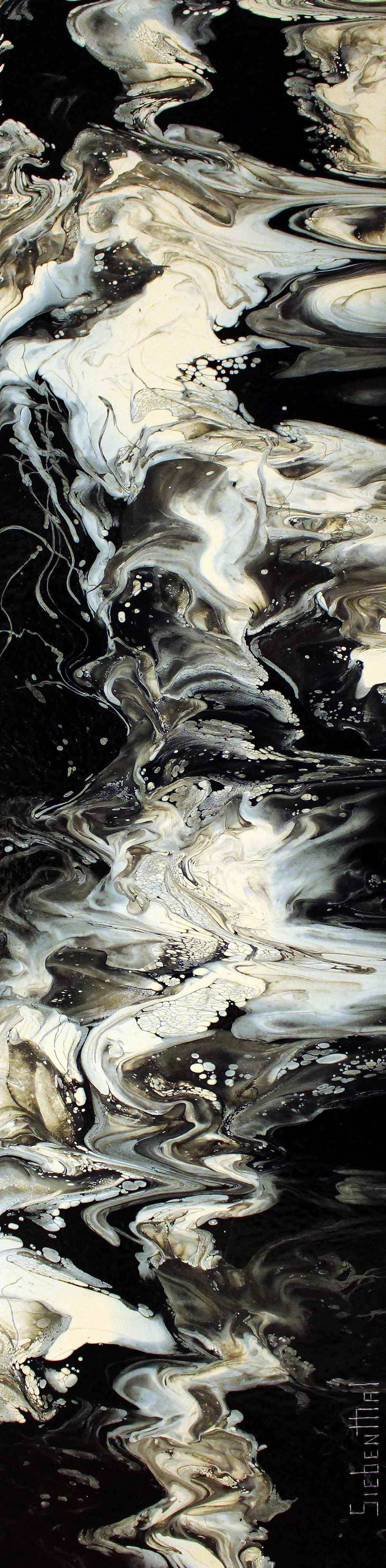 Act of God - Fluid Acrylic Art by Eric Siebenthal - Acrylicmind.com