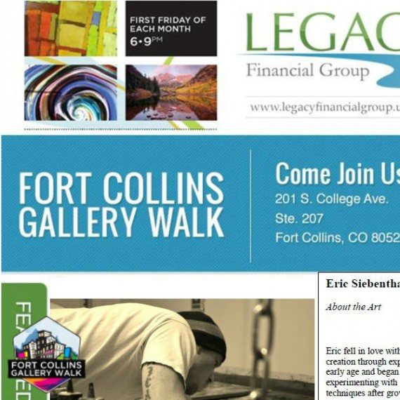 Legacy Financial - Fort Collins Art Walk - Eric Siebenthal