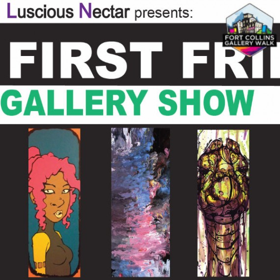 Luscious Nectar - Fort Collins Art Walk - Eric Siebenthal