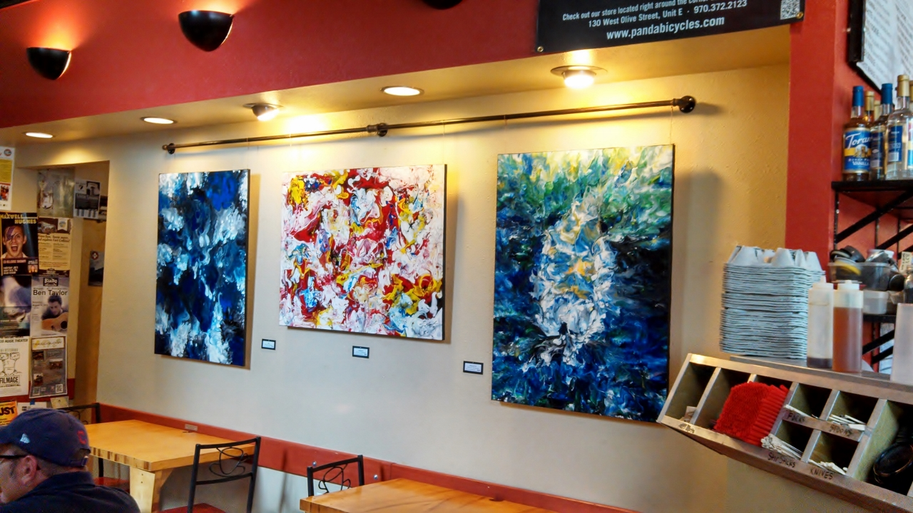 Mugs Coffee Lounge, Fort Collins Artist, Eric Siebenthal