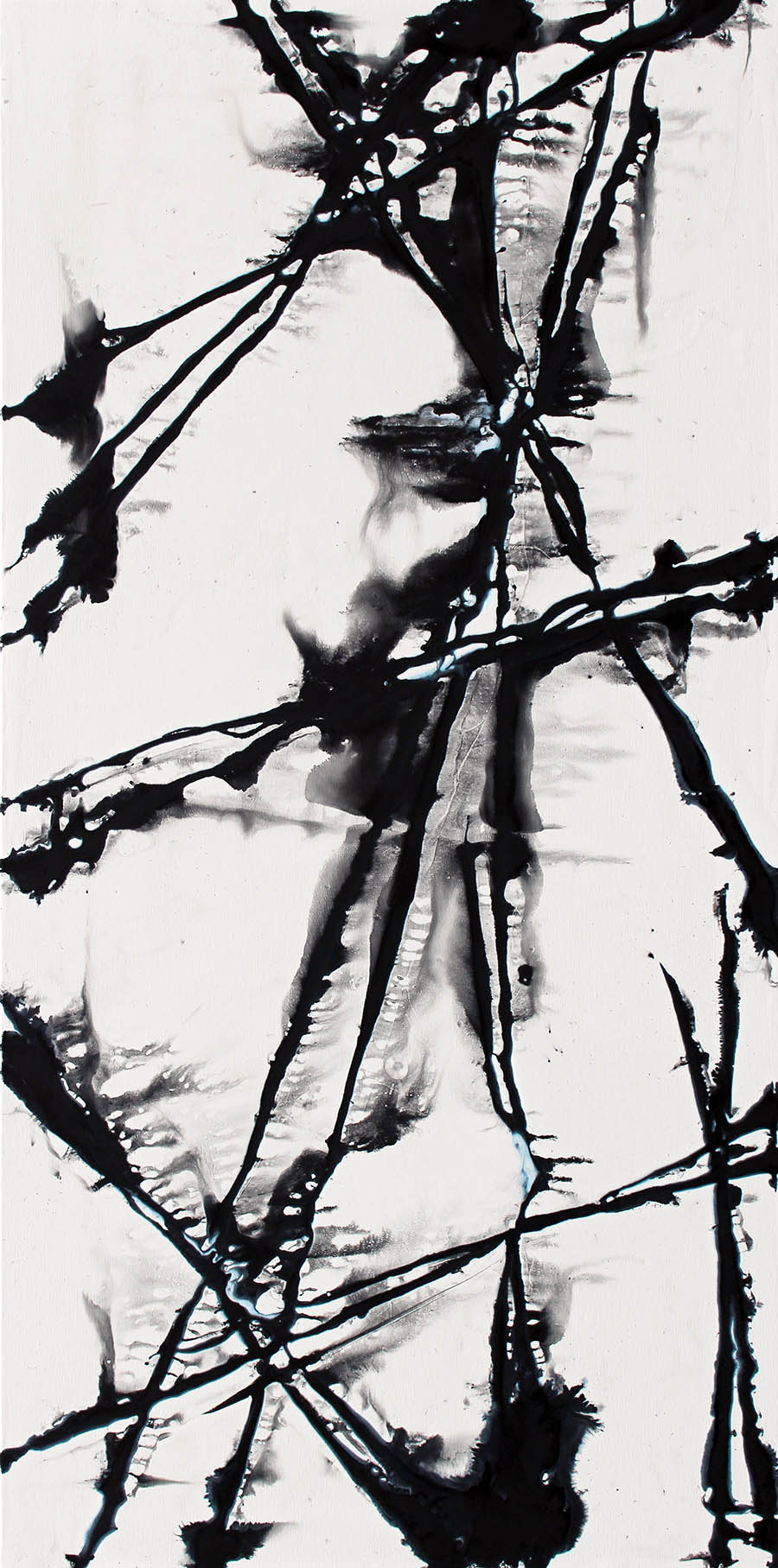 Inkwell - Abstract Art - Eric Siebenthal