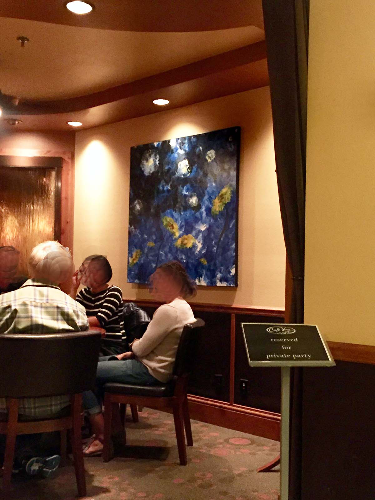 Sweet Dreams - Acrylicmind - Cafe Vinos - Sunflower Surreal Painting Fort Collins